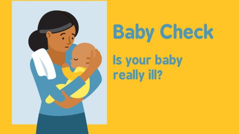 Worried that your baby is ill? Try the Baby Check App