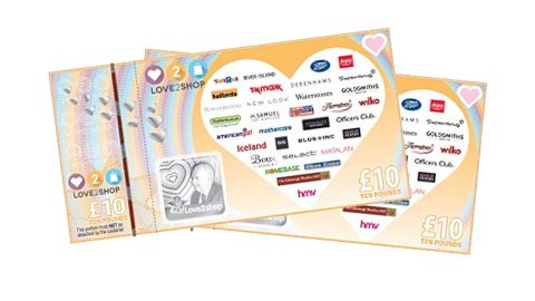 Win a £25 Love2shop gift voucher!