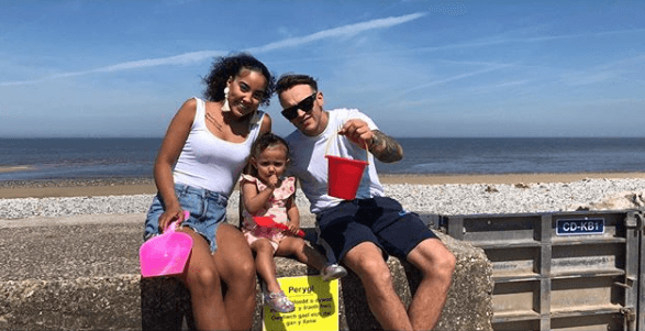 Sassi from Teen Mom UK with her family